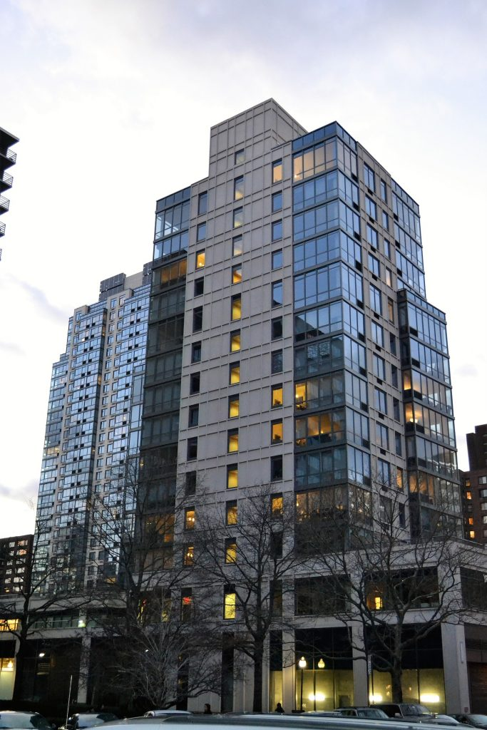 Residential condo building typical of those being renovated by local realtor, Greg Williamson